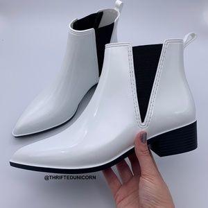 Jeffrey Campbell Mist Chelsea Waterproof Rain Boot